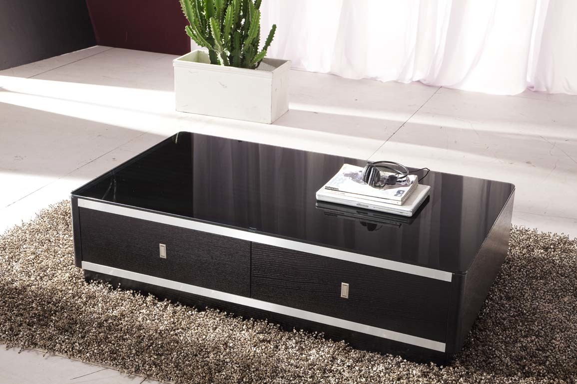 China Modern Black So Popular Wood Coffee Table Photos Pictures