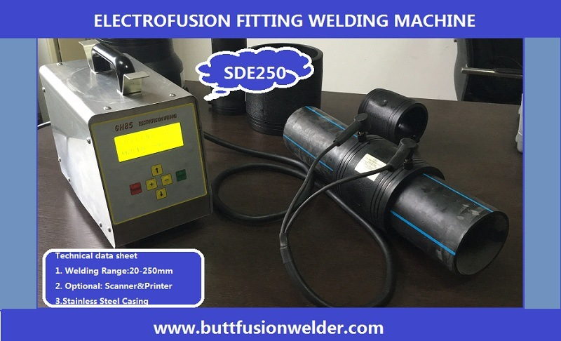 HDPE Tube Electro Fusion Welder