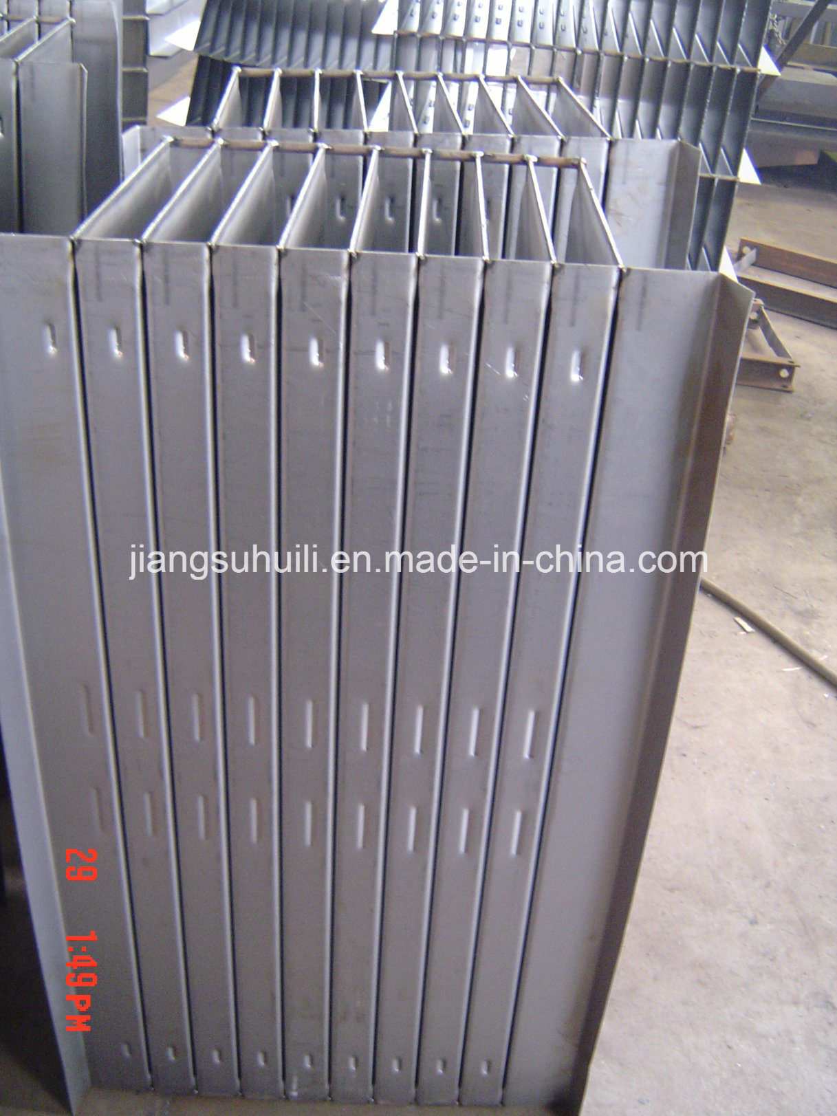 Raw Material Currugated Fin Wall