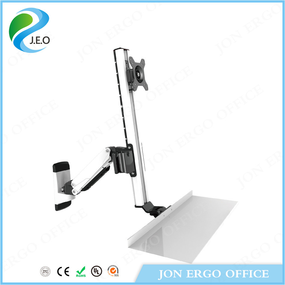 Height Adjustable Monitor Arm/Standing Desk (JN-WS15)