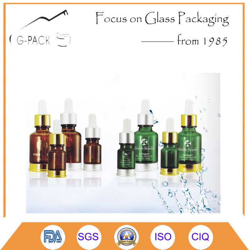 Colorful Glass Bottle for Perume and Cosmetics Packing