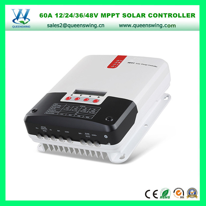 MPPT Regulator 60A 12/24/36/48V Solar Charger Regulator (QW-ML4860A)