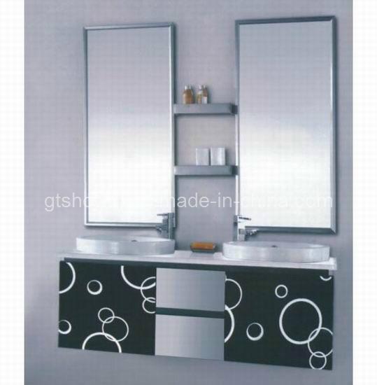 Muebles cl sicos del cuarto de ba o del fregadero doble for Muebles bano clasicos
