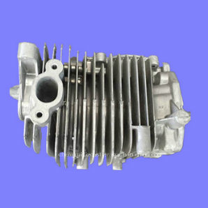Precision Die Casting for Motorcycle Cylinder Head