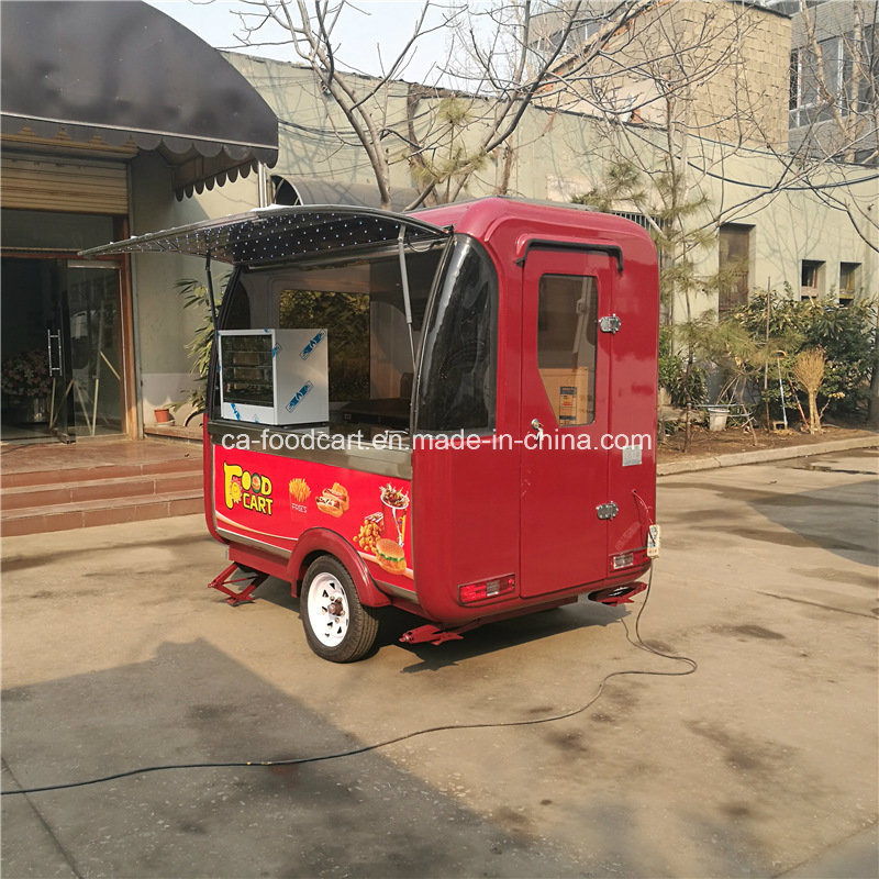 Ce Mobile Fast Food Cart