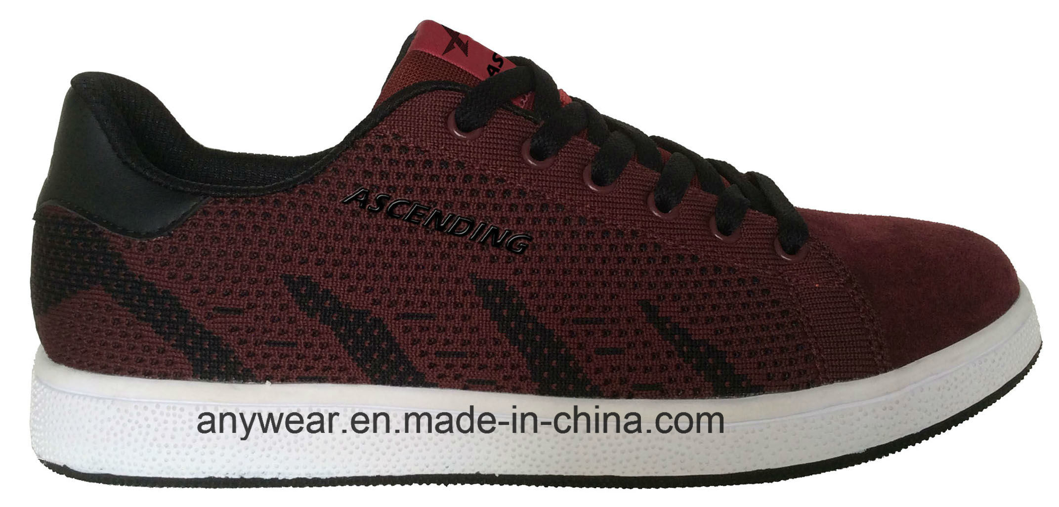 Athletic Flyknit Footwear Running Sports Shoes (816-6383)