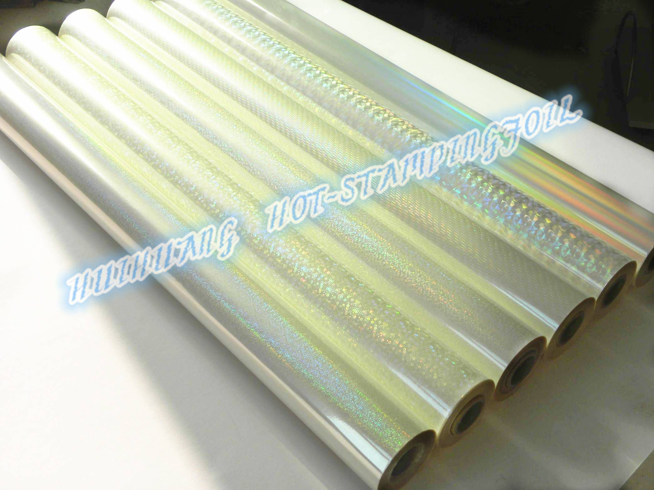 Transparent Holographic Hot Stamping Foil