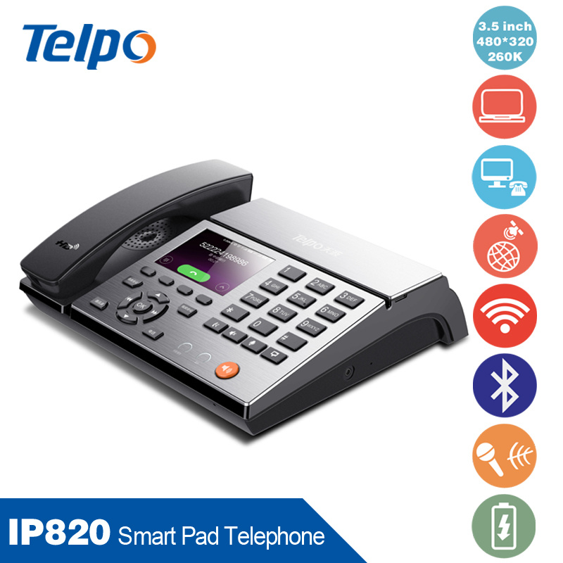 Latest Antique Bluetooth Smart Business Desktop VoIP Pad Telephone