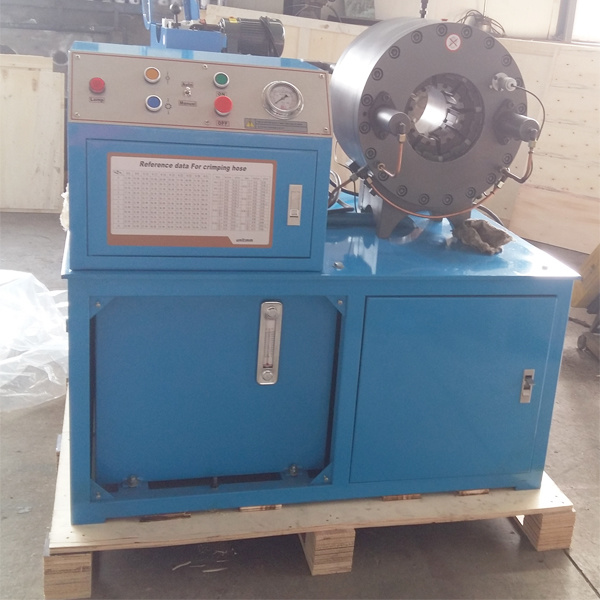 4inch Hose Crimping Machine Km-91d for MID East Area