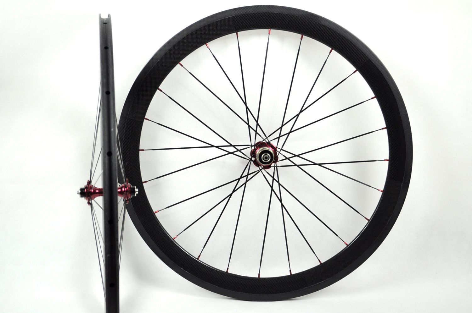 China 700c 50mm tubular carbon bicycle wheels frx w50t for Making bicycle wheels