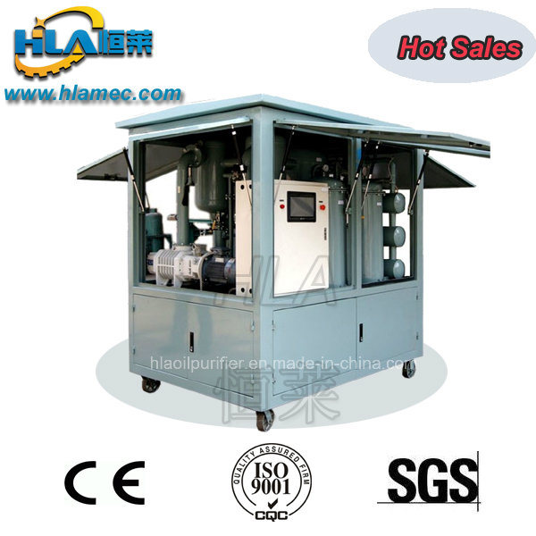 Dvp Closed Type Insulating Oil Filtration Plant