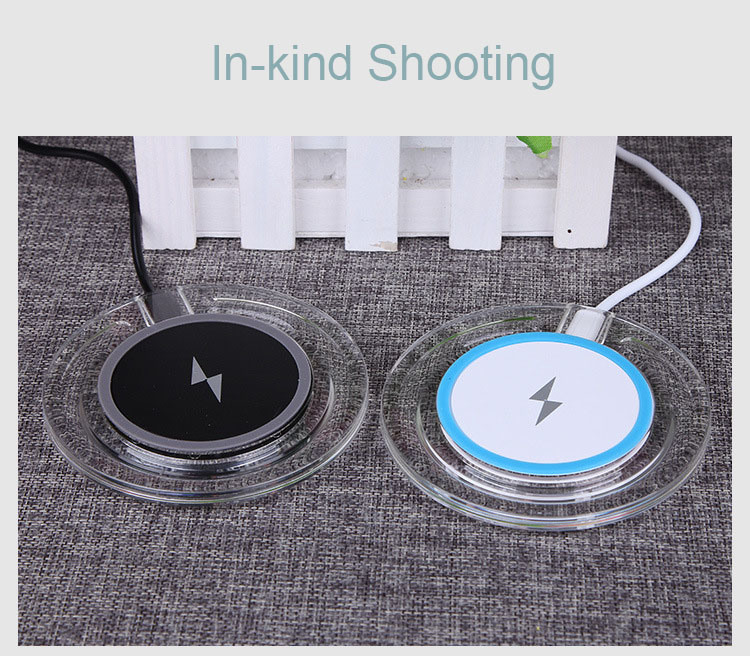 New Qi Wireless Charger for Samsung Galaxy S6 / S6 Edge/Nexus/iPhone/HTC