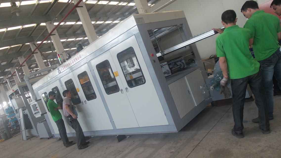 Zs-6171 Automatic Thin Gauge Plastic Forming Machine