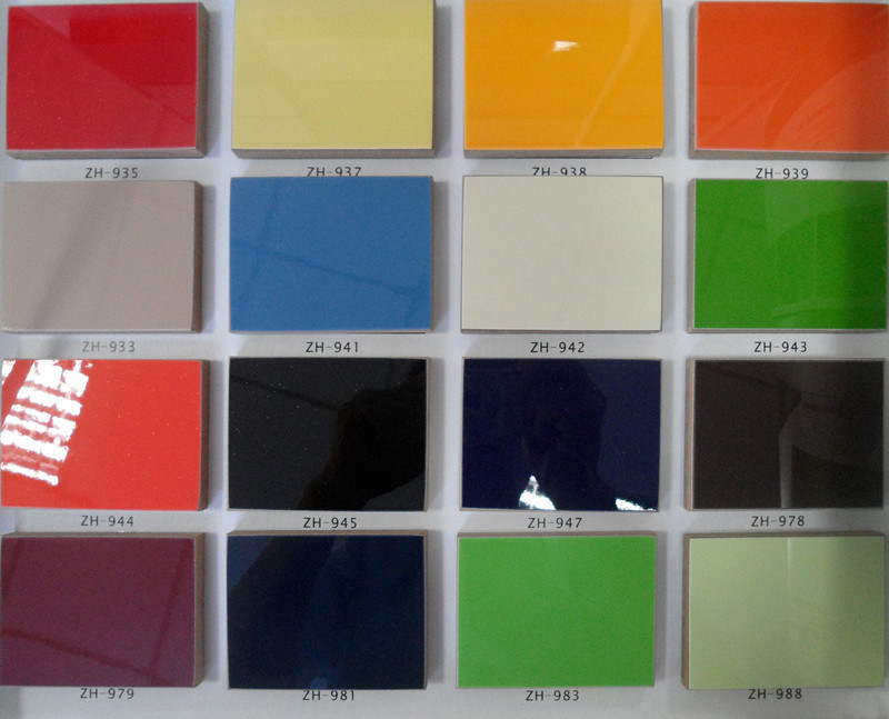 China High Gloss Laminate Uv Boards Melamine Board