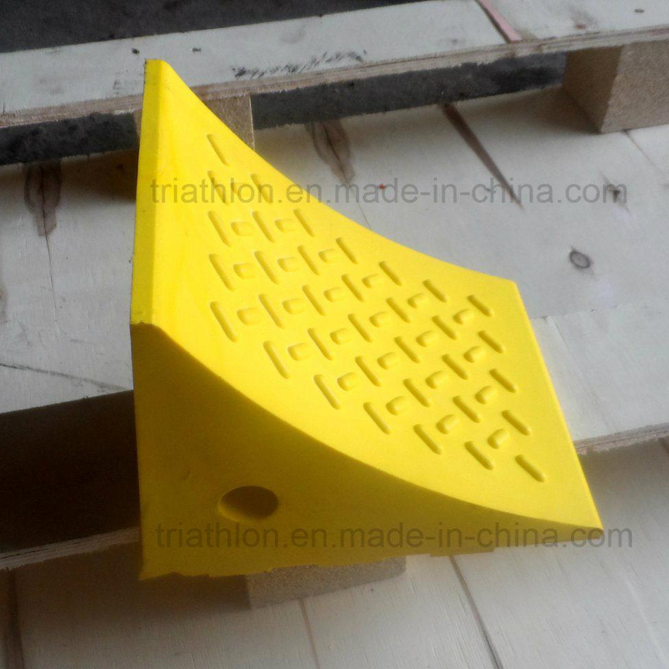 """24"""" Polyurethane Foam Yellow Aircraft Wheel Chock"""