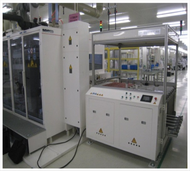 Automatic Silicon Wafer Loading Machine in PV Solar Production Line