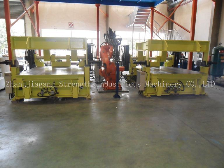 PU Automobile Carpet Foaming Line Mhd250190