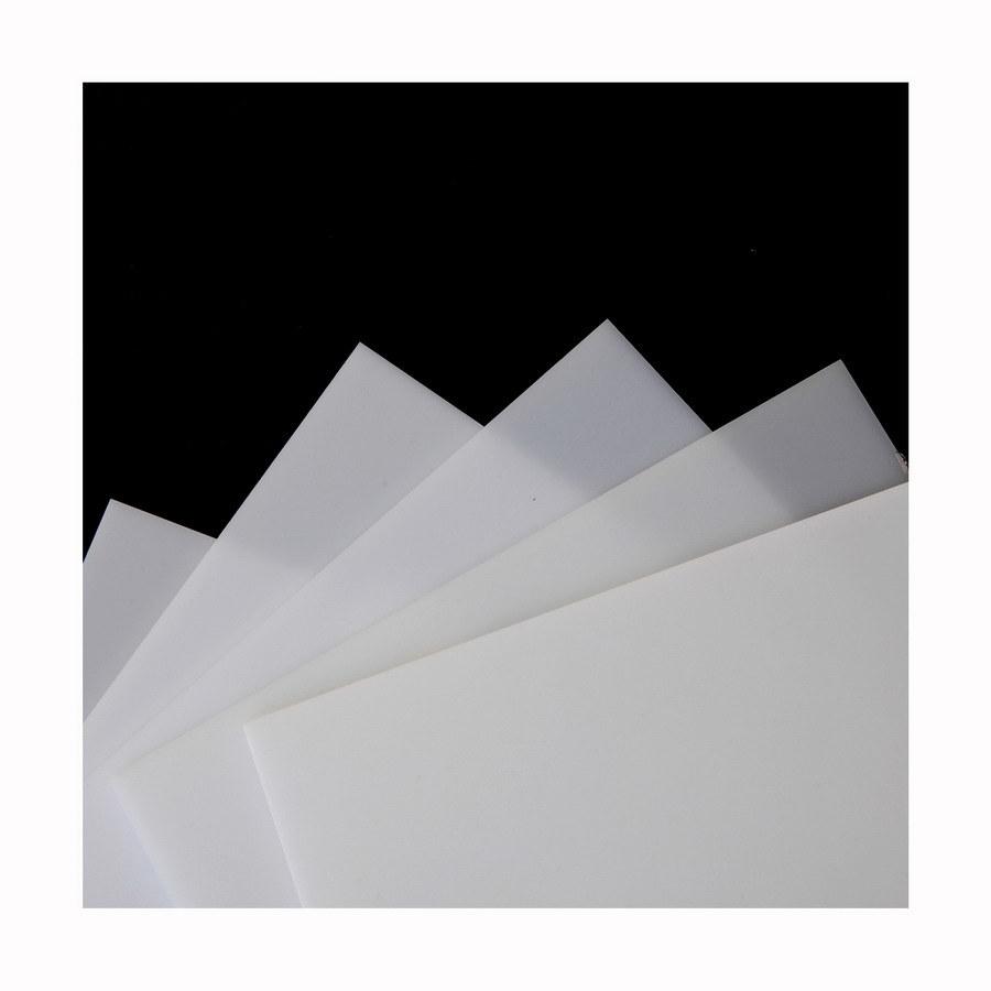 Virgin Acrylic Sheet (White 425, 431, 433, 4250, 5431)