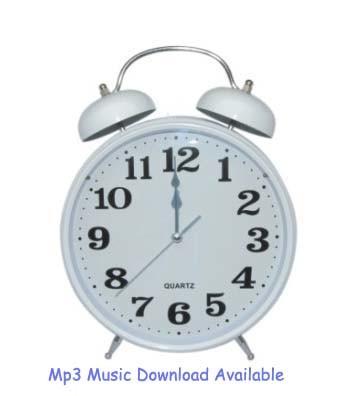 MP3 Alarm Clock (MP3-80C)