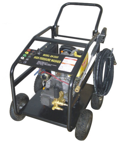 Key Start 6HP Diesel Engine CE 200bar Diesel Pressure Washer (QH-200D)
