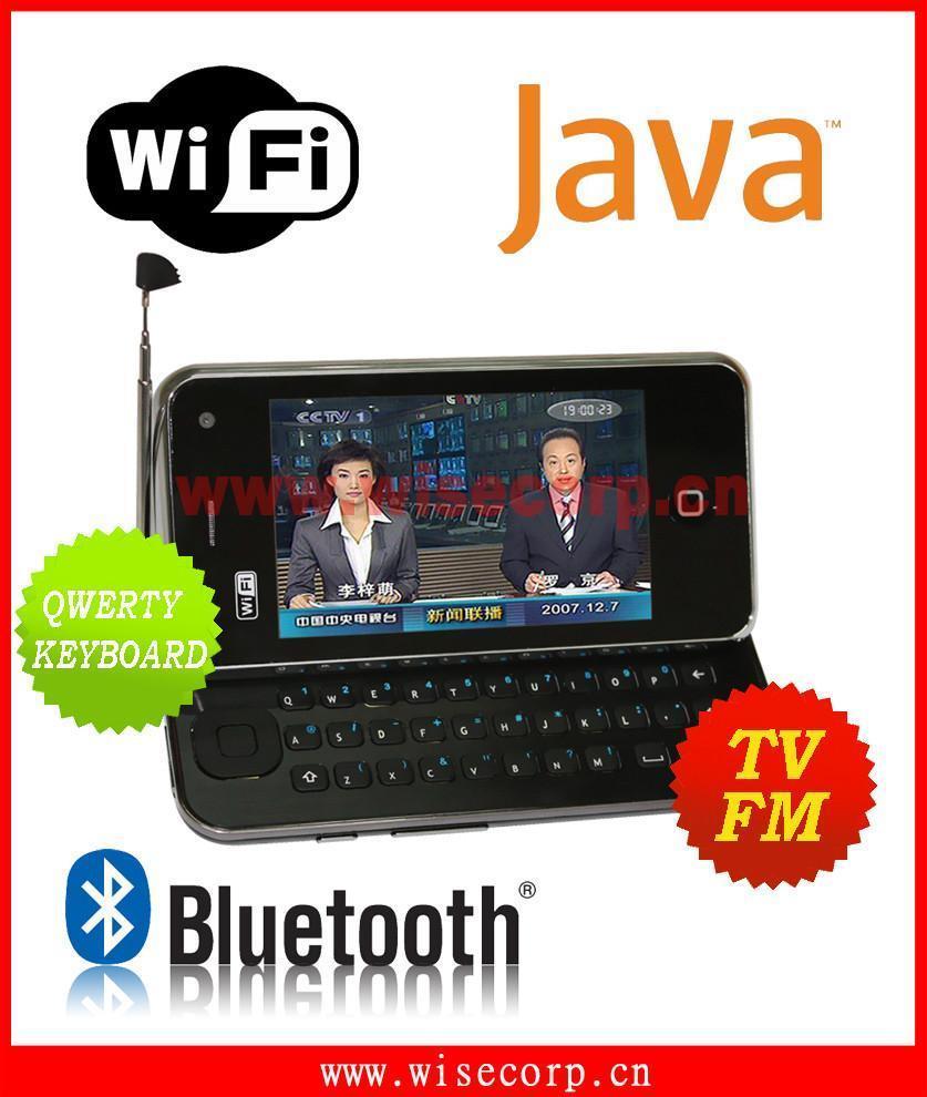 WiFi Java TV Qwerty Keyboard Mobile Phone (E2000) - China Mobile Phone ...
