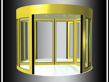Two Wings Revolving Door ((RST-A2) )