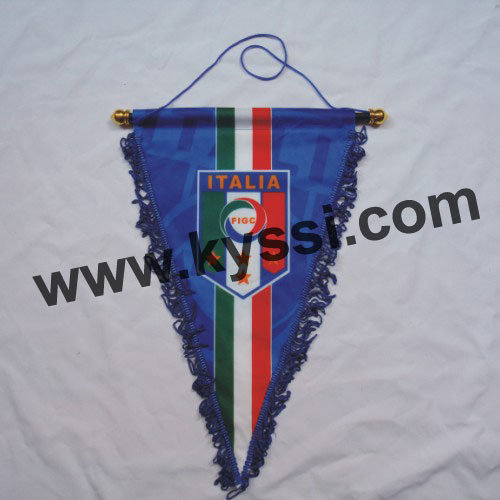 National Soccer Team Football Team 43*33cm Triangular Pennants