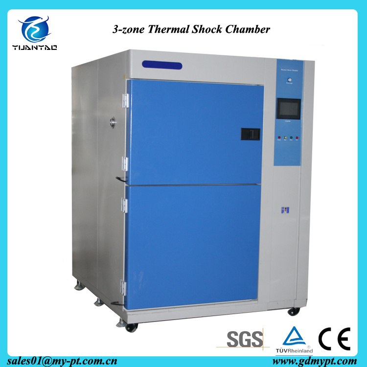 252 L Three Zones Thermal Shock Testing Machine