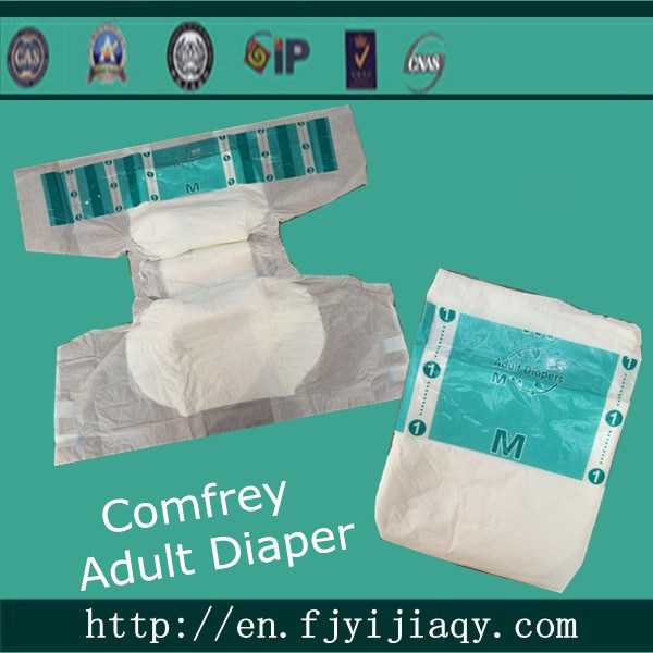 Cheap Comfrey Adult Diaper Manufacture in China