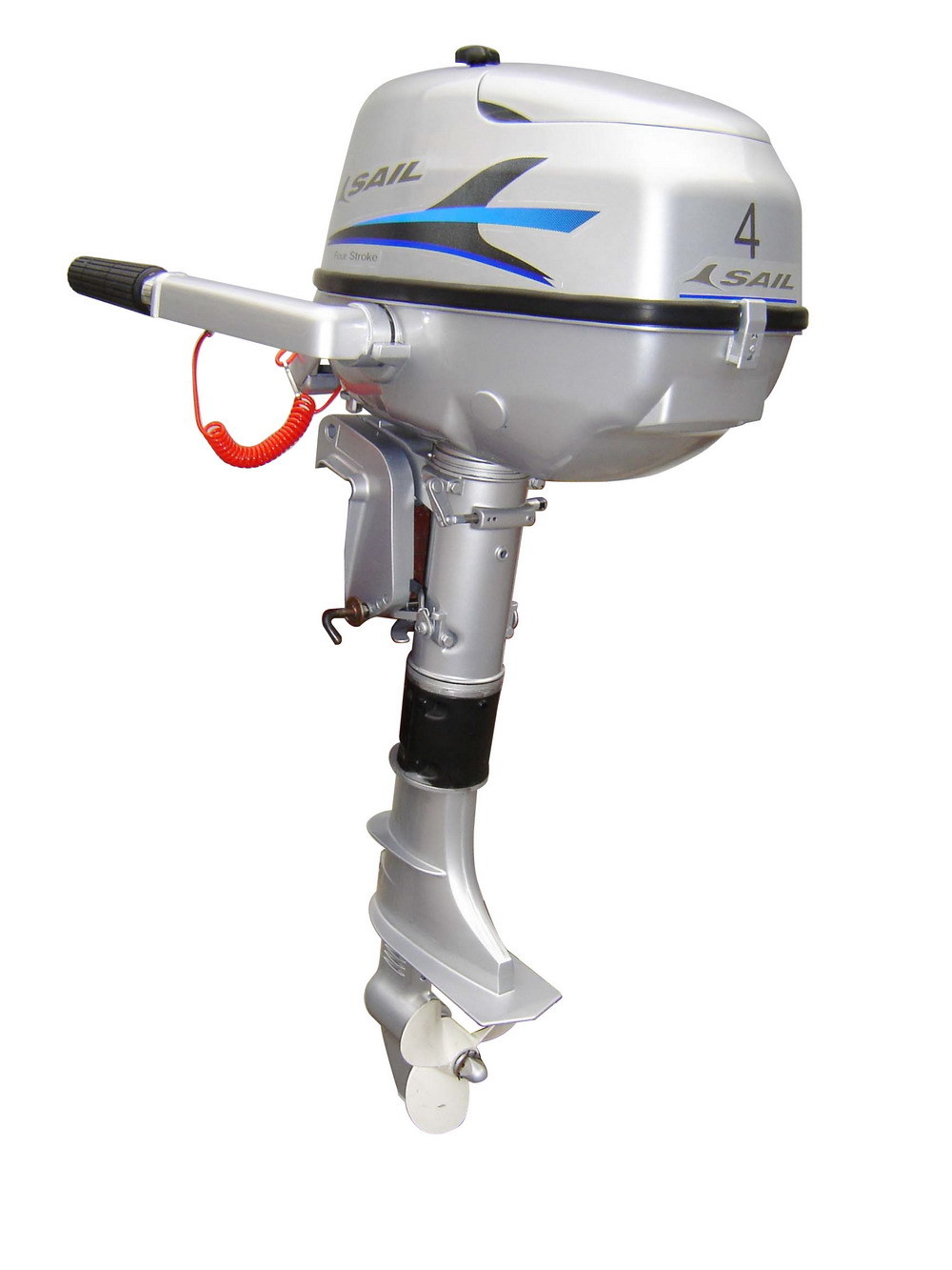 4-Stroke 2.5HP-15HP Outboard Engine