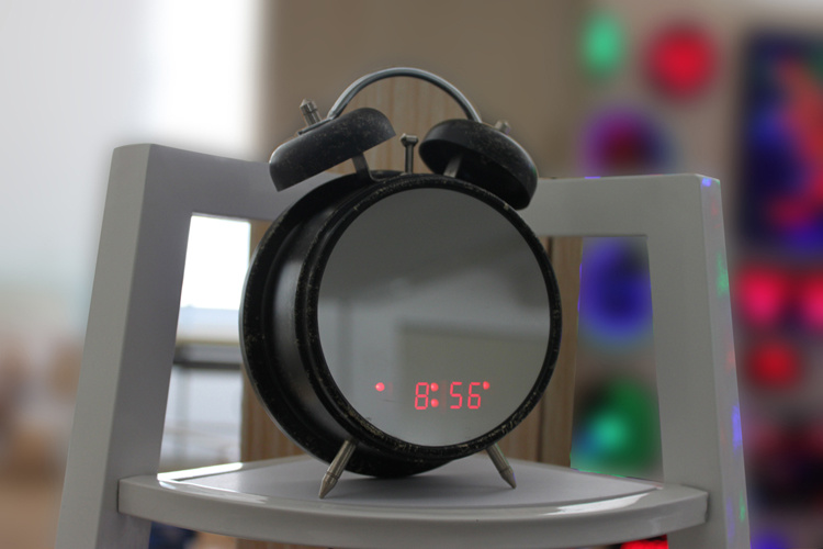 LED Alarm Table Clock (ZT-432C)