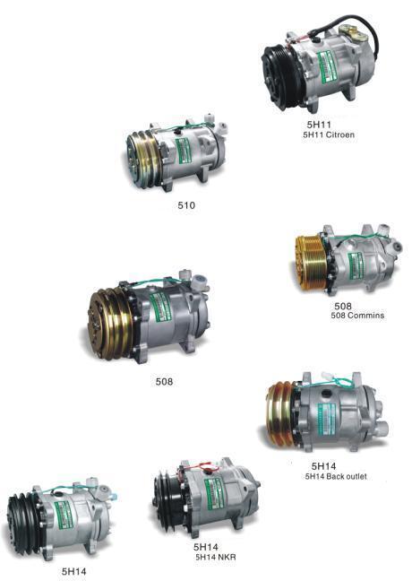 Auto A/C Compressor (SADEN 5 Series)