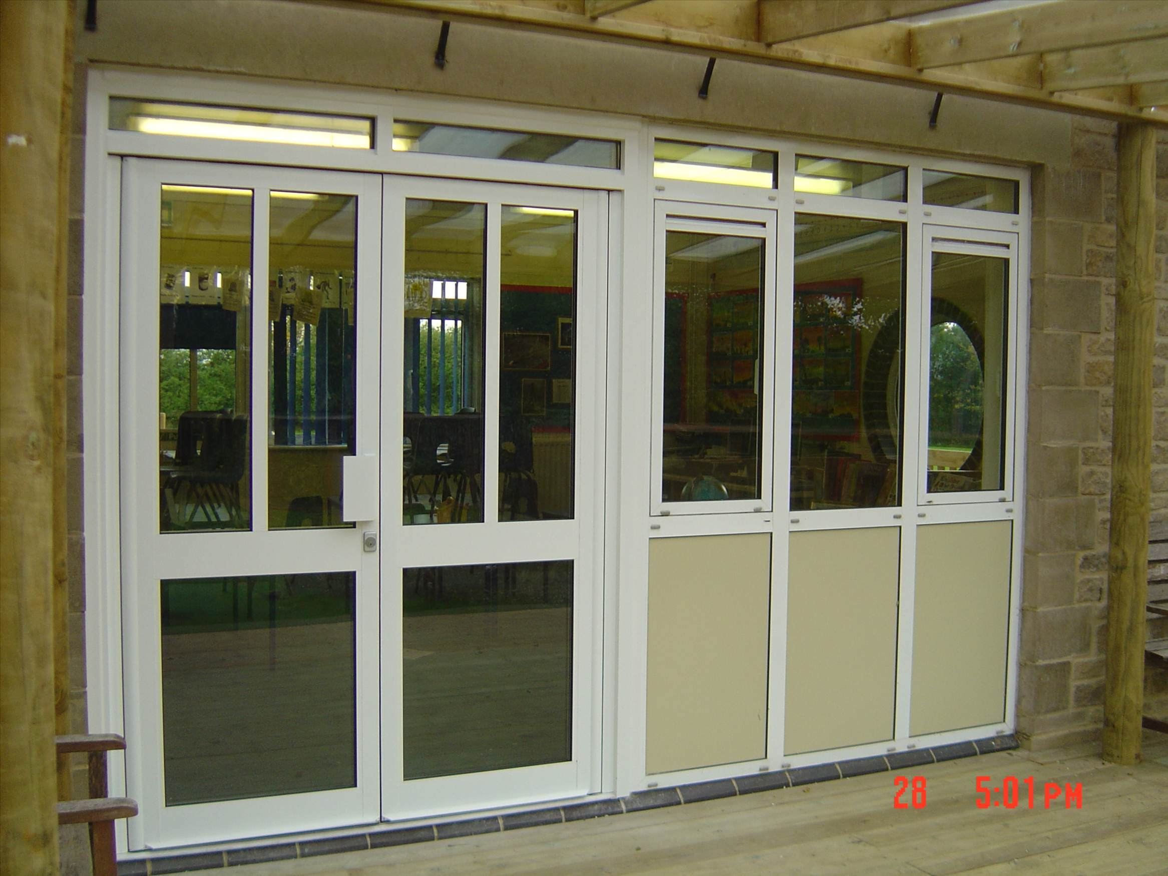 Aluminum door aluminum door window manufacturing for Glass windows and doors