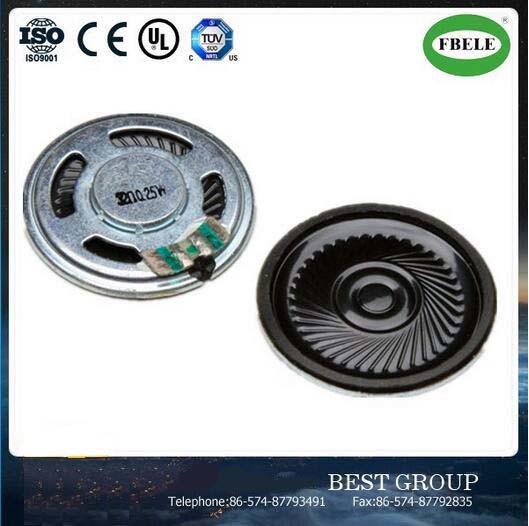 36mm 0.5W 8ohm Mylar Cone Speaker