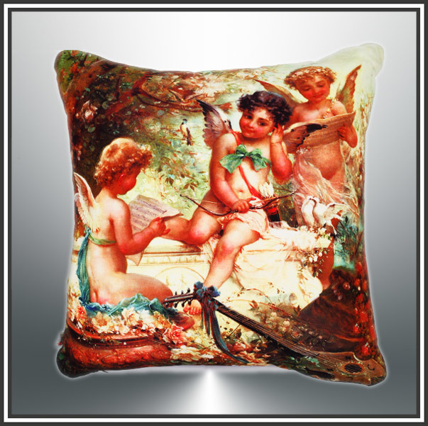 Cotton Cushion, Canvas Cushion Digital Printed Cushion