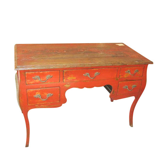 Antique Furniture Desk with Drawer Lwd287