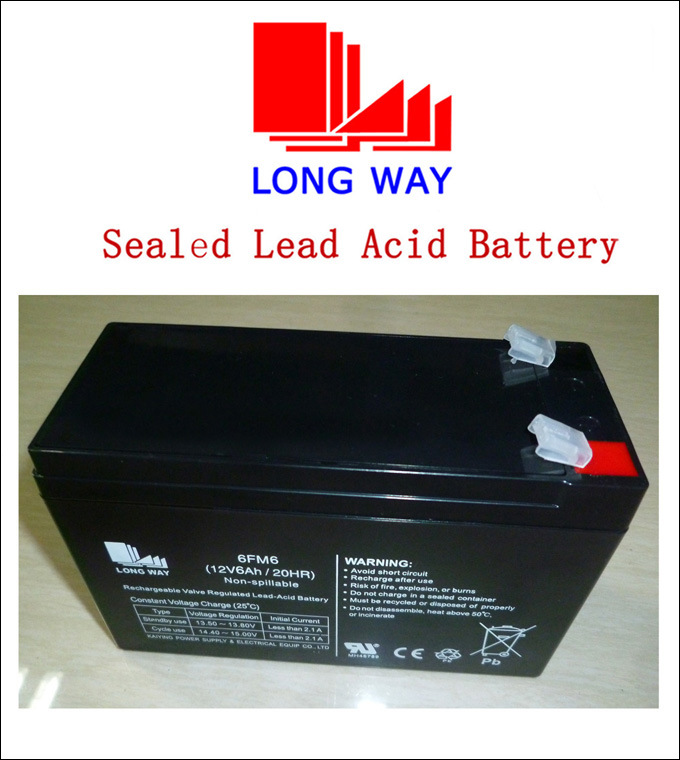 12V5ah Toy Cars Rechargeable Valve Regulated Lead Acid Battery