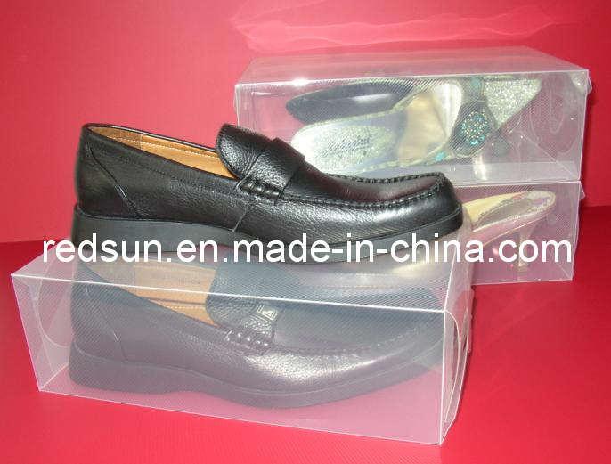 Clear Shoe Box/Transparent Shoe Box (D-041