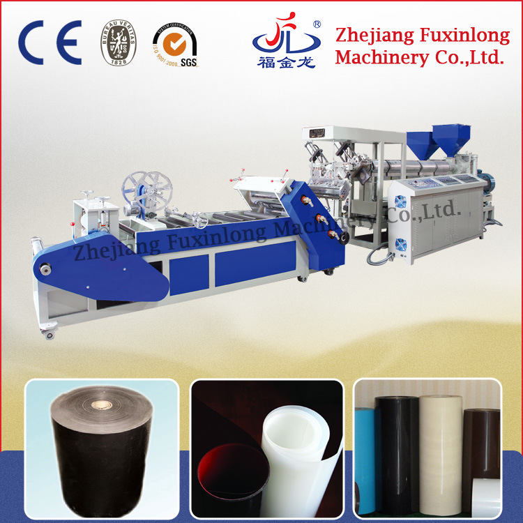 Double Layer Plastic Sheet Extruder for PP PS