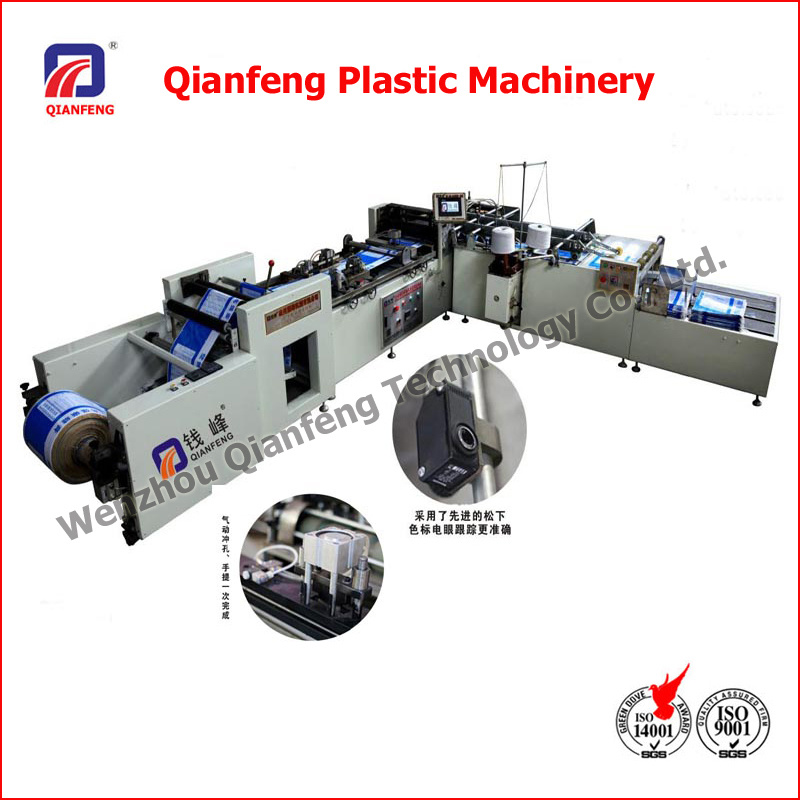 High Speed Auto Cuttig and Sewing Machine for Printing Woven Bag