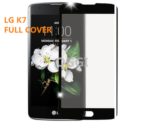 Tempered Glass Screen Protector for LG K7 Full Cover Colorful