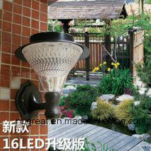 LED Wall-Mountable Solar Garden Light