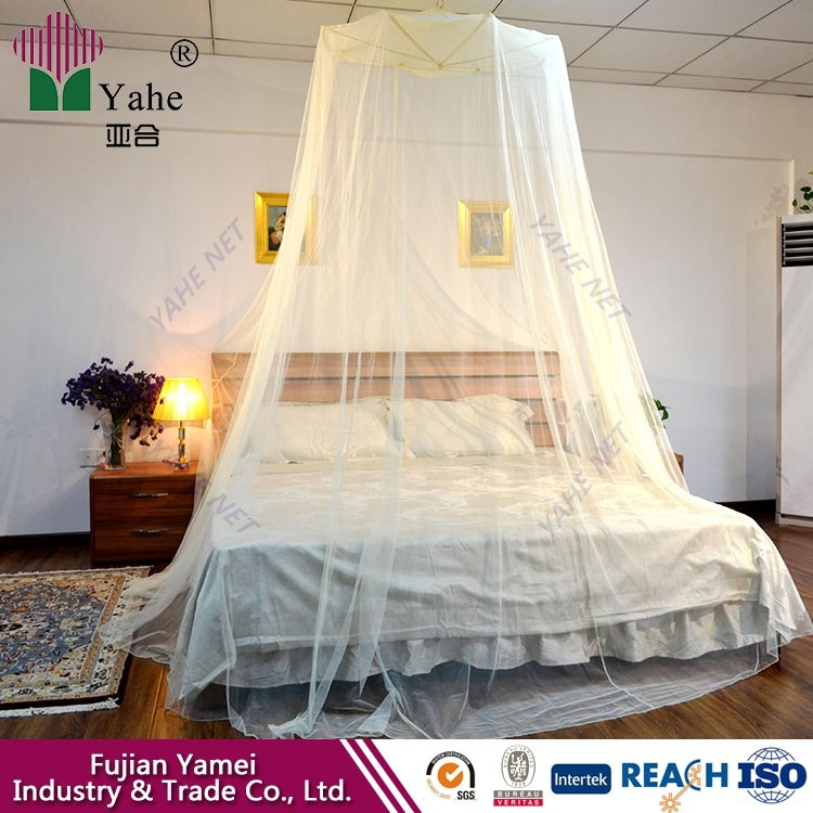 DIY Mosquito Net Hanging 4 Poster Bed Canopy Mosquito Net