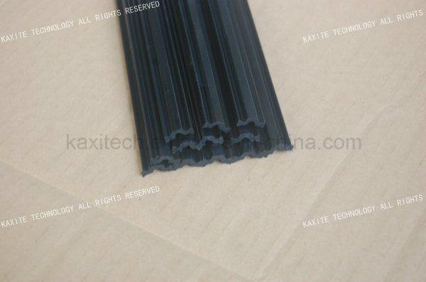 C Shape 14.8mm Plastic Extrusion Polyamide 66 Thermal Barrier Material