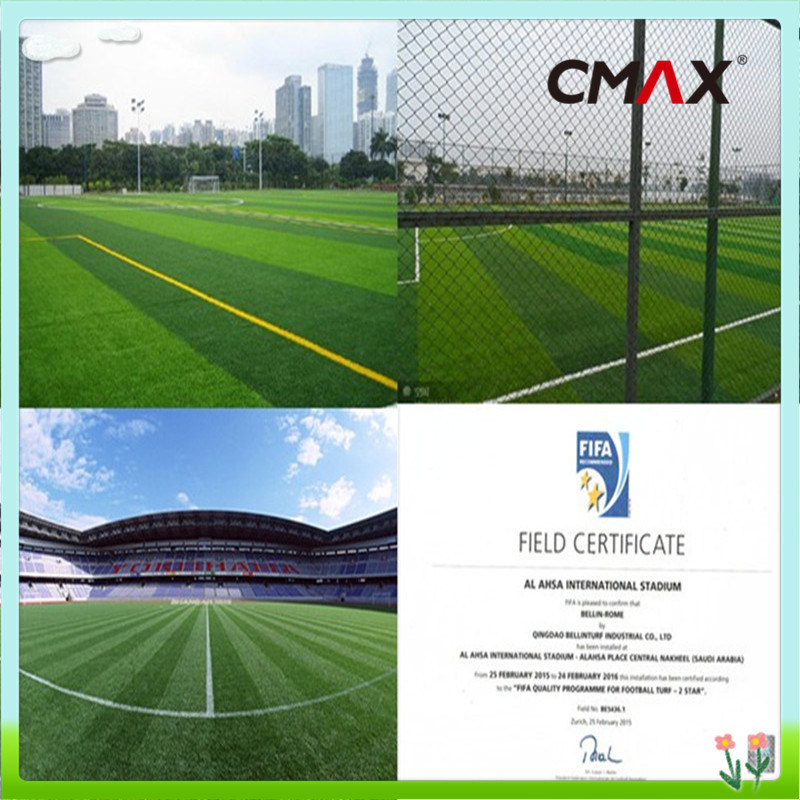 Artificial Soccer Grass with Fifa CE SGS Isa Lab Certificates