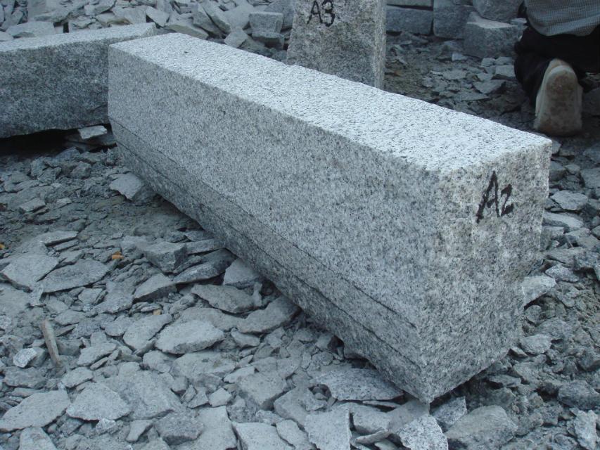 Cheap Grey Granite Rough Pick Kerbstone