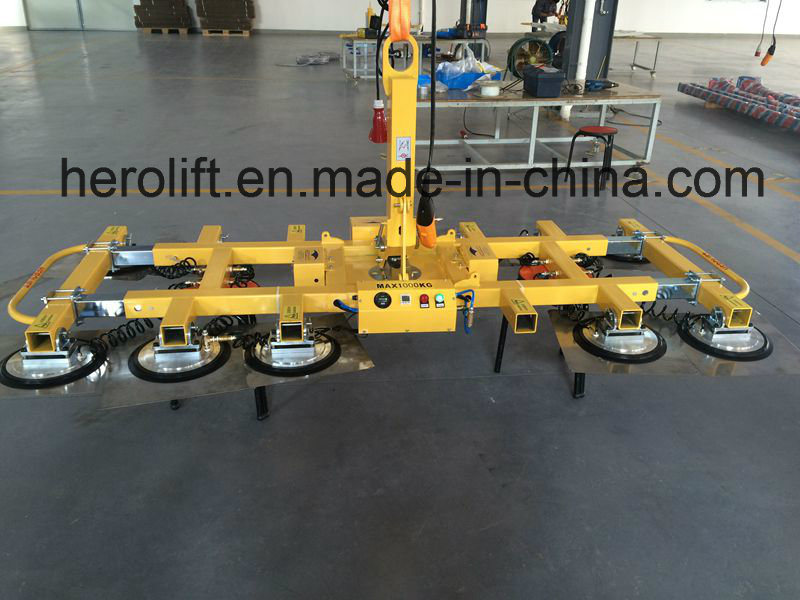 Capacity 1ton Vacuum Glass Lifter/Glass Loading Equipment