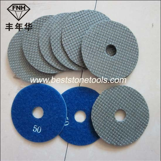 ED-1 Electroplating Diamond Bond Sanding Pad