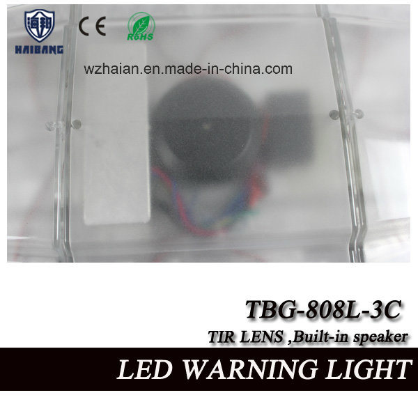 21.5 Inch Mini Lightbar Built-in Siren and Speaker with Tir Lens in High Waterproof (TBG-808L-3C)