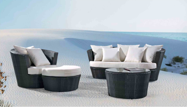 Madrid Outdoor Leisure Rattan Sofa